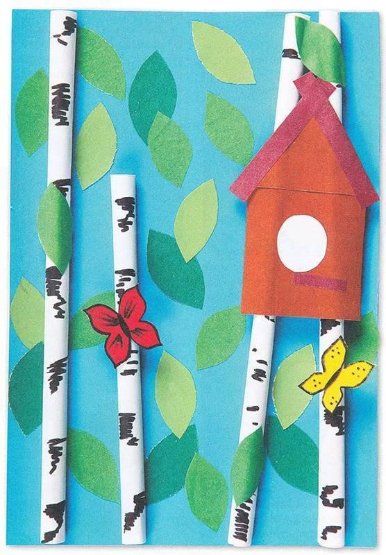 Поделки на тему весна своими руками в детском саду