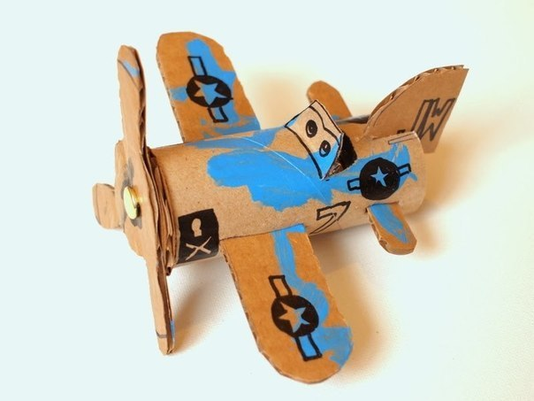 Вертолёт из картона