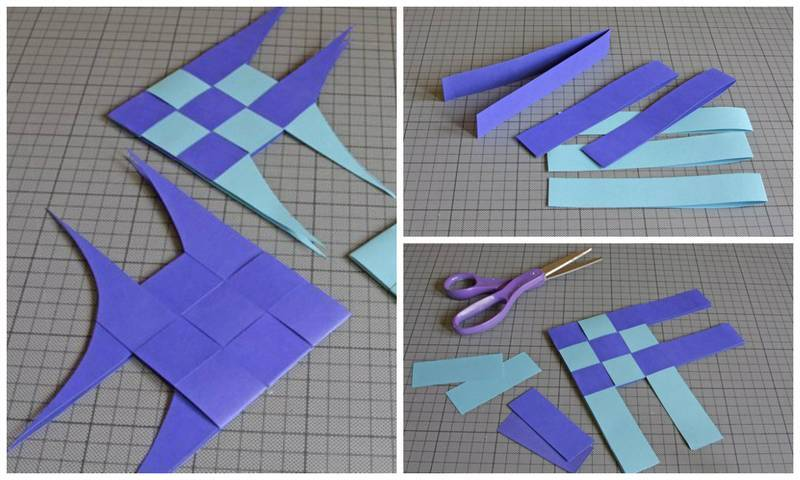 Как сделать из бумаги полоски 199