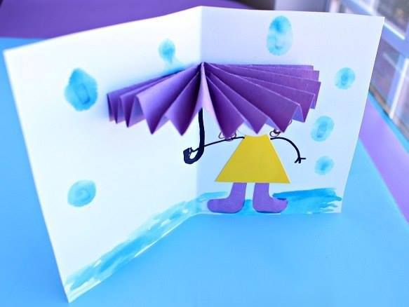Поделки для детей зонтик
