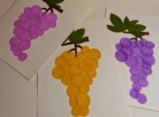 Поделки ягод из бумаги 145