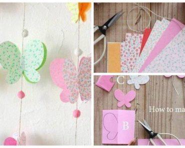Лето декор со пеперутки 7