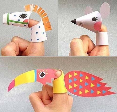 Как сделать из бумаги игрушку для детей