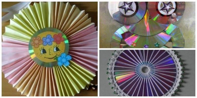 Поделки из дисков в садике 57