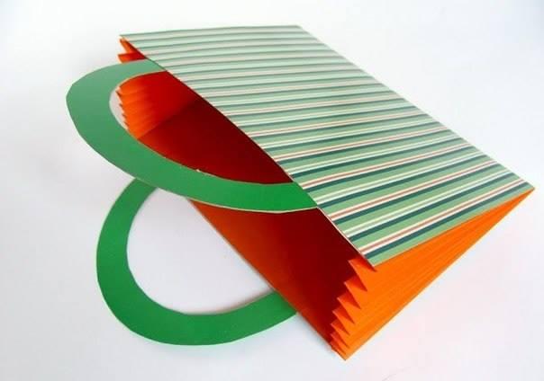 Поделки из бумаги цветной бумаги из картона