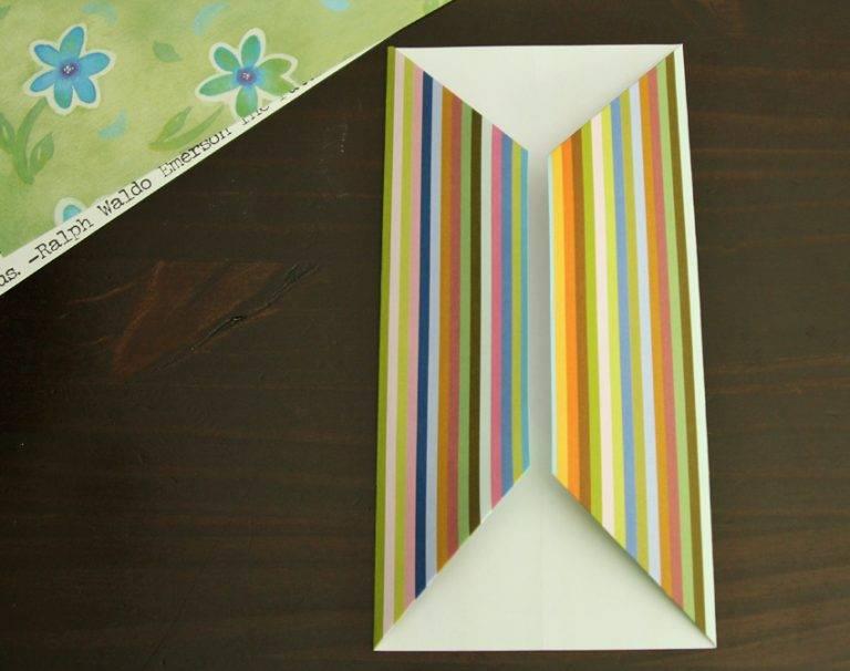 Объемные открытки из оригами 769