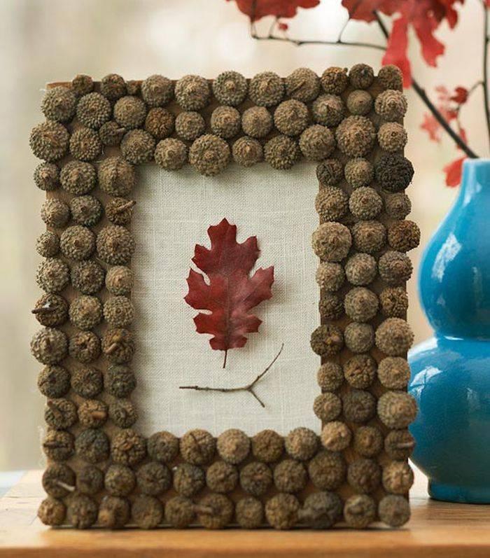 Оригинальные поделки из природного материала фото осень