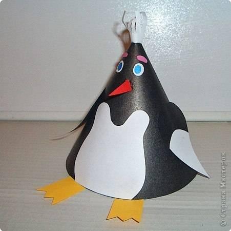 Как сделать игрушку на конусе из бумаги
